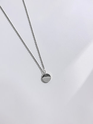 Round Plate Necklace