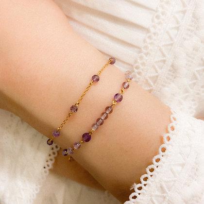 Amethyst Deluxe Bracelet