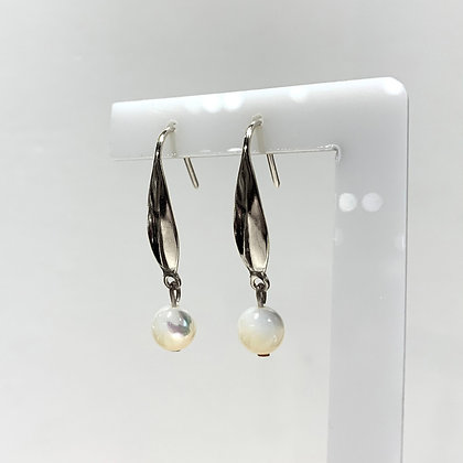 White French Earrings