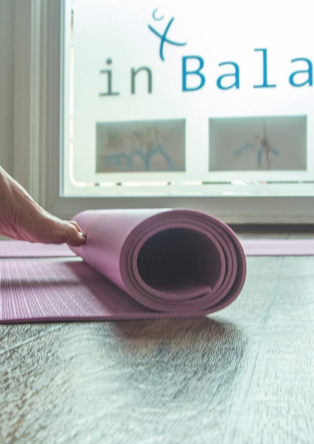 Training im Fitnessstudio in Balance
