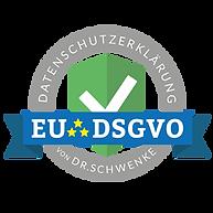 Datenschutzerklärung Siegel von Dr. Schw