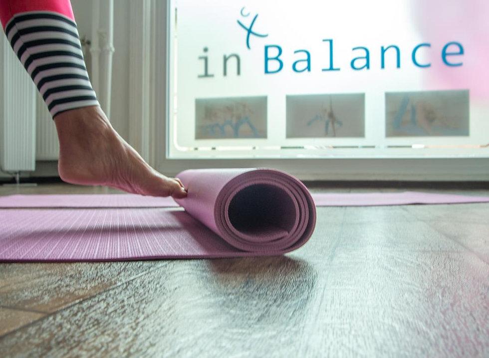 Yogamatte im inBalance Studio.jpg