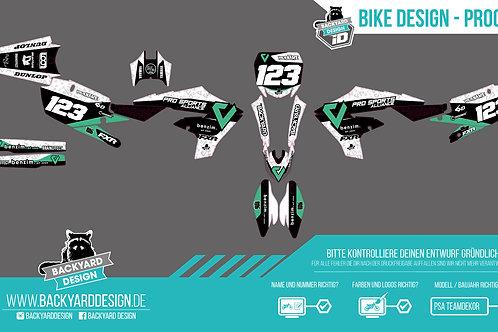 Custom Pro Sports Alliance Bikedesign by Backyard Design