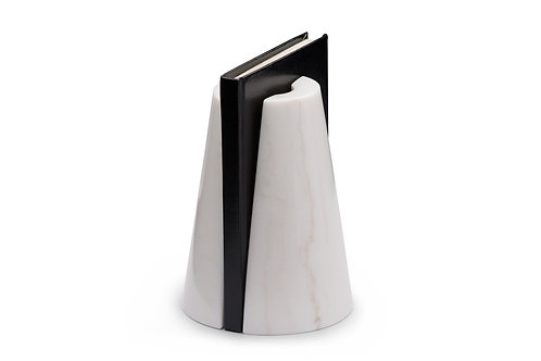Monumental bookends white