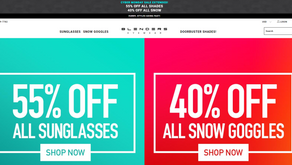 Sale extended! 40%-55% off Blenders eyewear