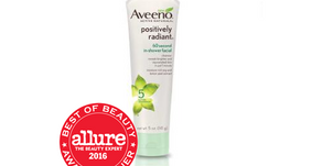 Product Review: Aveeno Positively Radiant In Shower 60 Second Facial