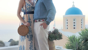 What I Wore: Sunset Viewing in Santorini, Greece