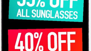 Major cyber Monday sale on Sunglasses & snow goggles