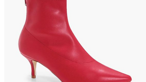 Found: Budget Friendly Red Boots