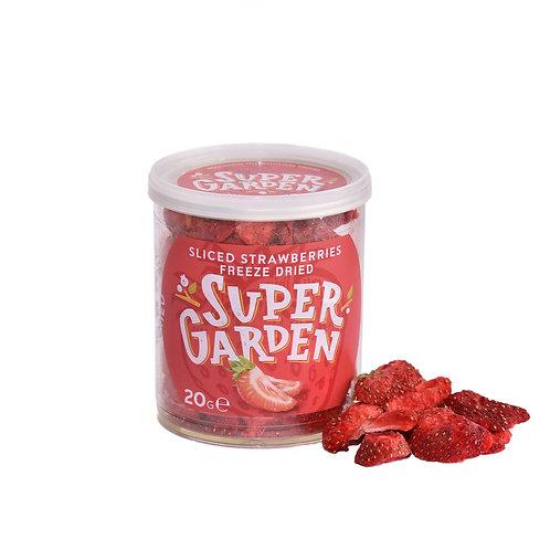 Freeze Dried Sliced Strawberries