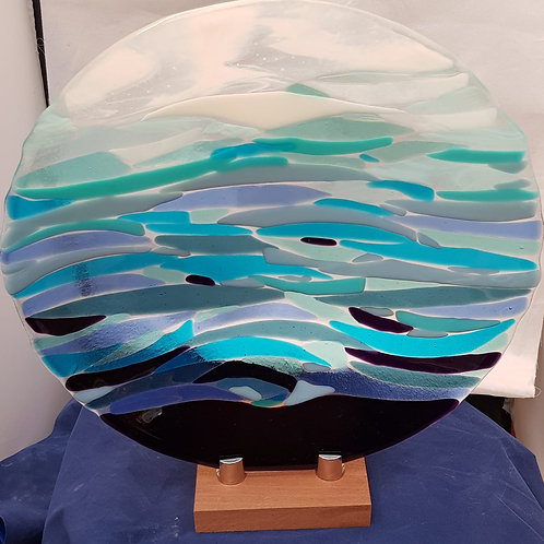 Abstract wave  Shallow Bowl