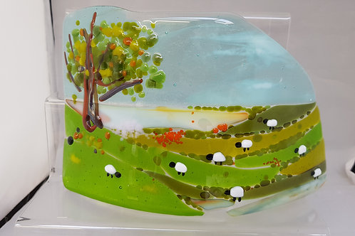 Countryside Tea Light Wave