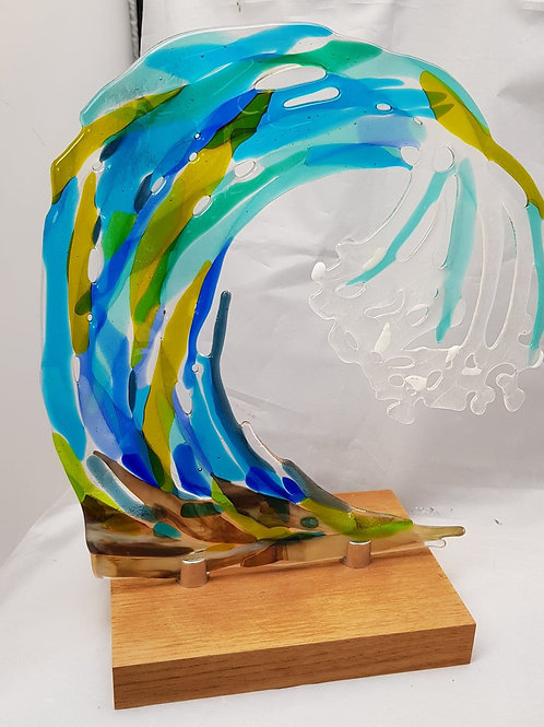 Glass Art Wave