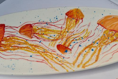 Large Jellyfish Serving Platter