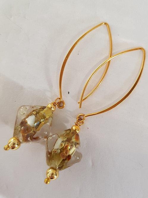 Glass Lampwork Earrings