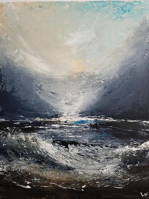 'Abating storm'