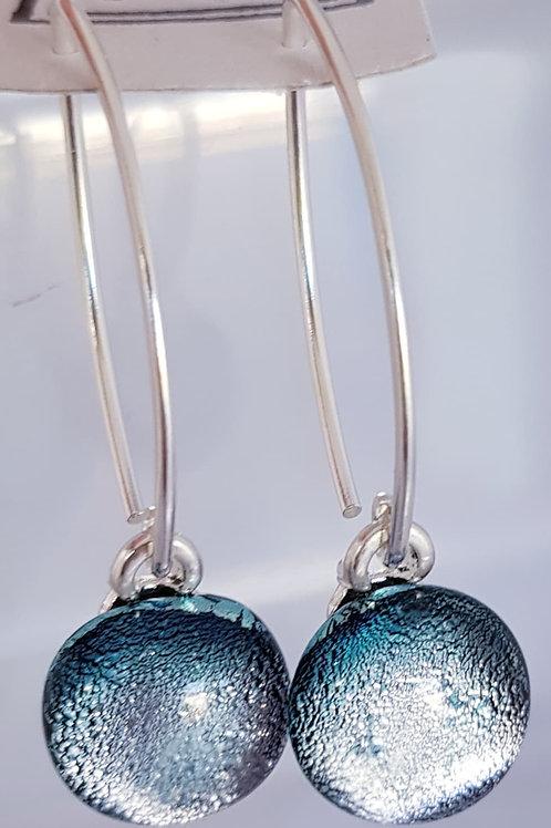 Dichroic Earrings