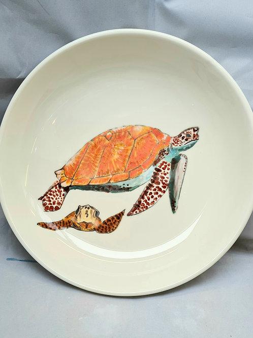 Sea Turtle Large serving bowl