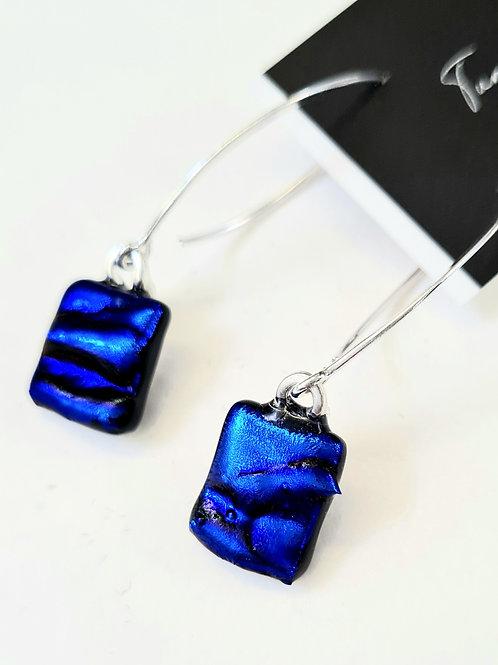 Dichro Danglies X earrings