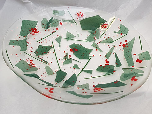 Christmas Shallow Bowl