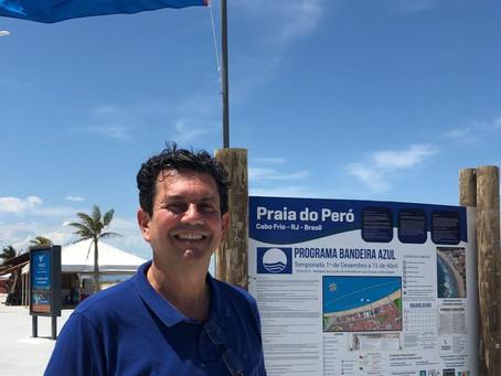 Futuro secretário de Turismo visita a Praia do Peró