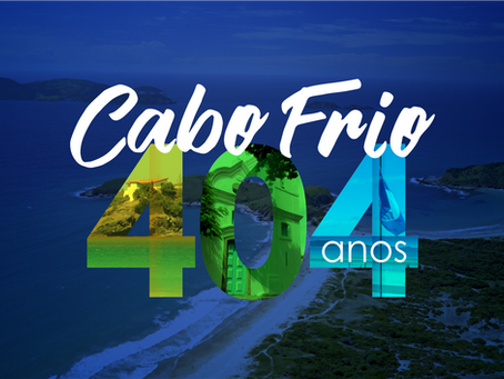 Cabo Frio comemora 404 anos com hasteamento da Bandeira Azul