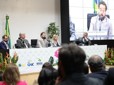 Ministério do Turismo compartilhou iniciativas da Pasta em congresso de Convention & Visitors Bu