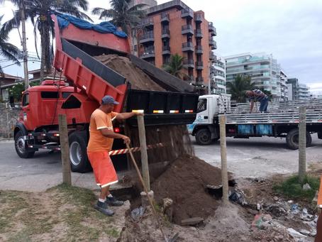 Prefeitura bloqueia acessos à Praia do Forte