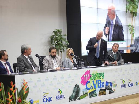 PARLAMENTAR DEFENDE A LEGALIZAÇÃO DE CASSINOS NO CONGRESSO DO BRASIL CONVENTION.