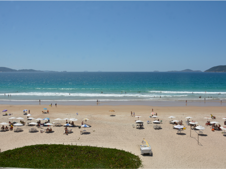 Praia do Peró é exemplo de turismo com o desenvolvimento sustentável