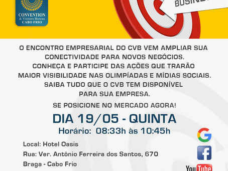 CVB Realiza Encontro Empresarial