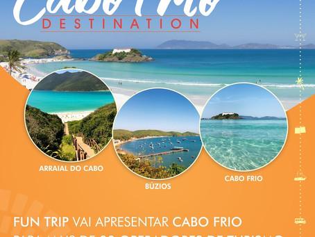 Fun trip vai apresentar Cabo Frio para mais de 30 operadores de turismo