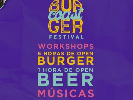 Cabo Frio recebe 1ª Edição do Burger Coast Festival
