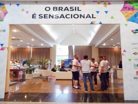 """Convenção BWT 2019 – Área de exposição """"O Brasil é sensacional """" é o grande destaque do dia"""