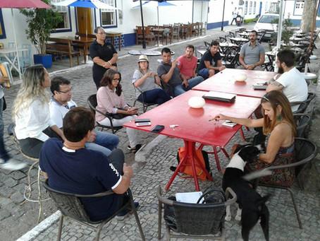Reunião com empresários do pólo gastronômico da Passagem