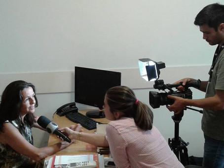 Entrevista com para aRecord TV Interior RJ
