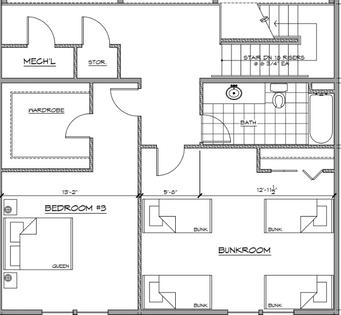 Upper Level - 4 Bedroom