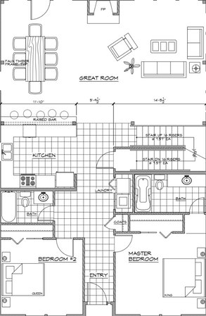 4 Bedroom - Main Level