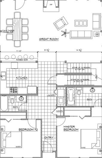 4 Bedroom - Main Level