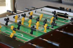 Lower Level Foosball Table