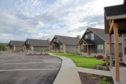 Row of Lodges