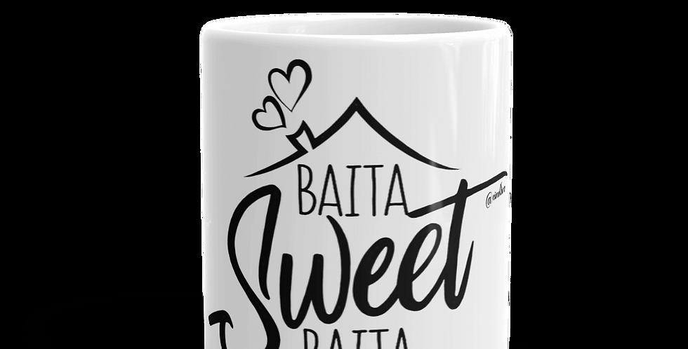 "Tazza bianca ""Baita sweet baita"""