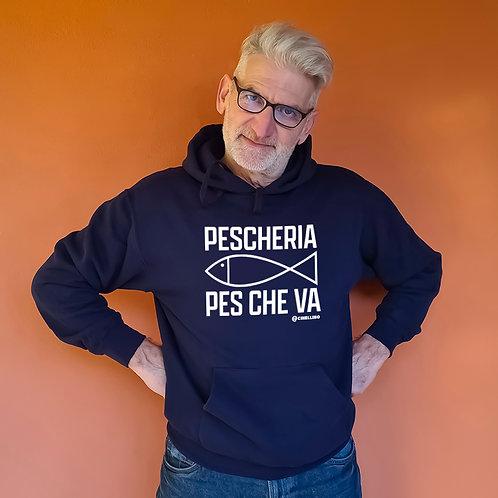 """Felpa """"Pescheria Pes che va"""""""