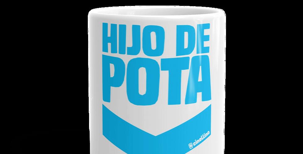 "Tazza bianca ""Hijo de pota"""