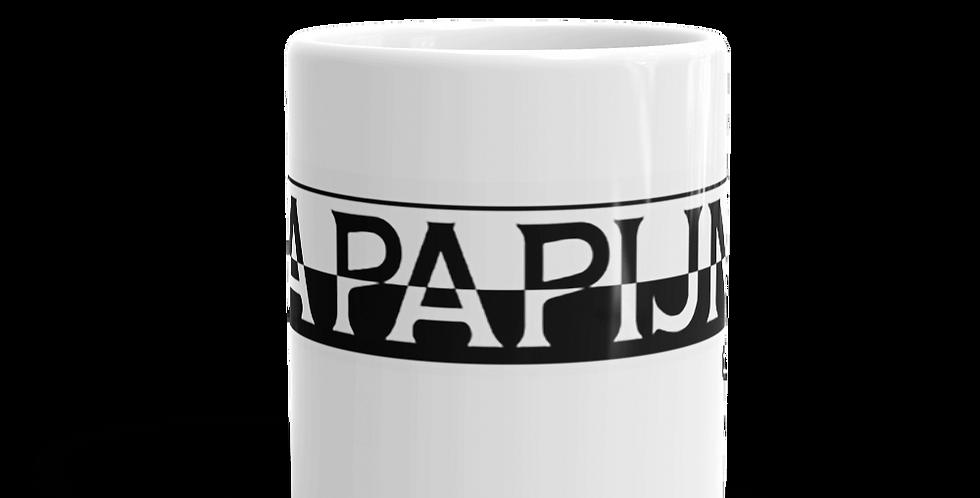 """Tazza bianca """"Na papjina"""""""