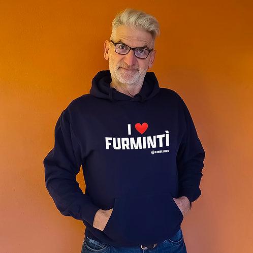 """Felpa """"I love furmintì"""""""