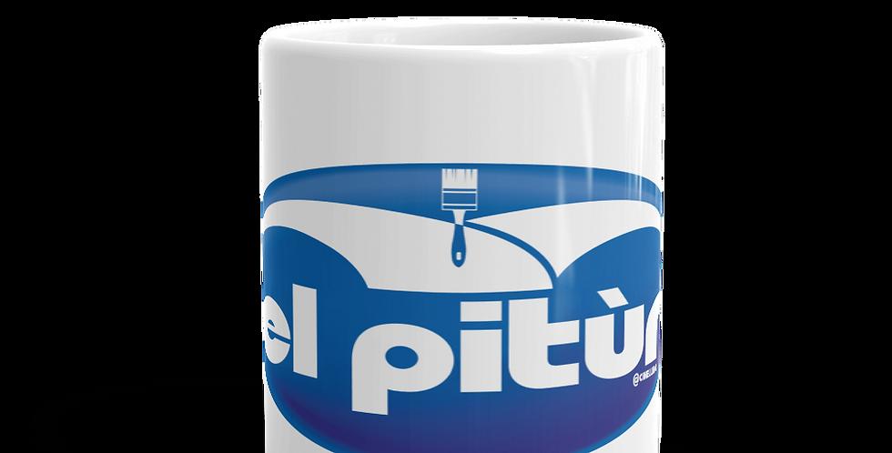 """Tazza bianca """"El pitùr"""""""