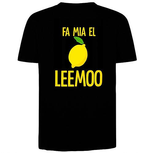 """Maglietta """"Fa mia el leemoo"""""""