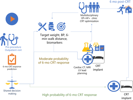 Using Machine-Learning for Prediction of the Response to CRT: the SMART-AV study