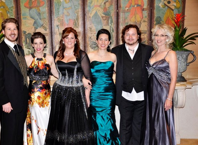 Backstage at the 2011 OperaWorks Gala